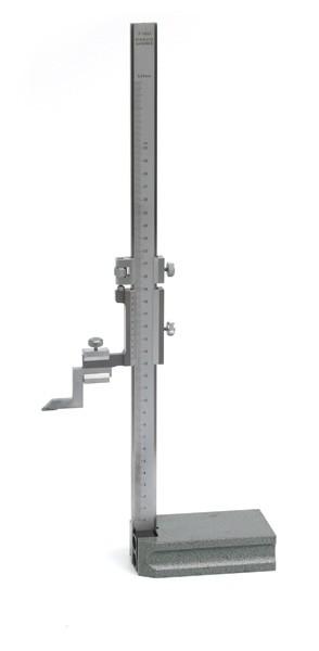 Monoblock Höhenreißer aus gehärtetem, rostfreien Werkzeugstahl 300mm/0,05