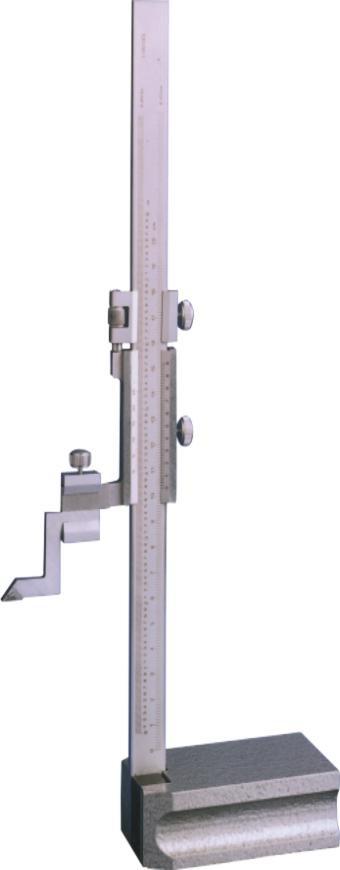 Monoblock Höhenreißer aus gehärtetem, rostfreien Werkzeugstahl 0-200mm/0,02