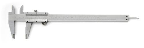 Taschenschieblehre mit Feststellschraube 200mm Nonius 0,05mm