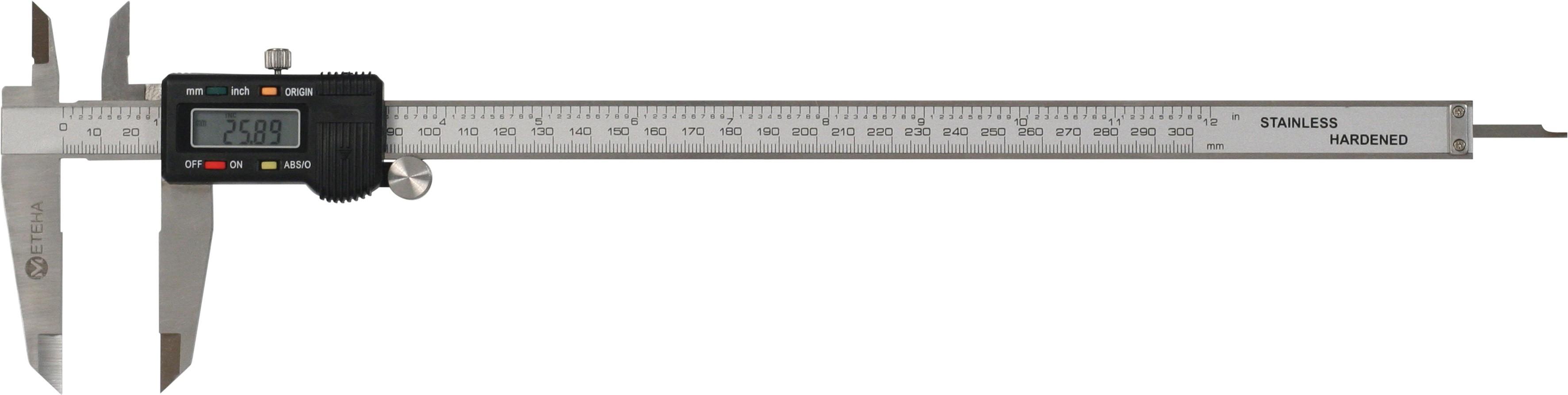 METEHA digitale Schieblehre ABS/Origin 300mm