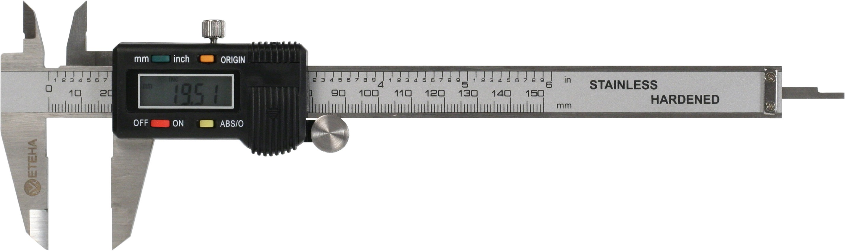 METEHA digitale Schieblehre ABS/Origin 150mm