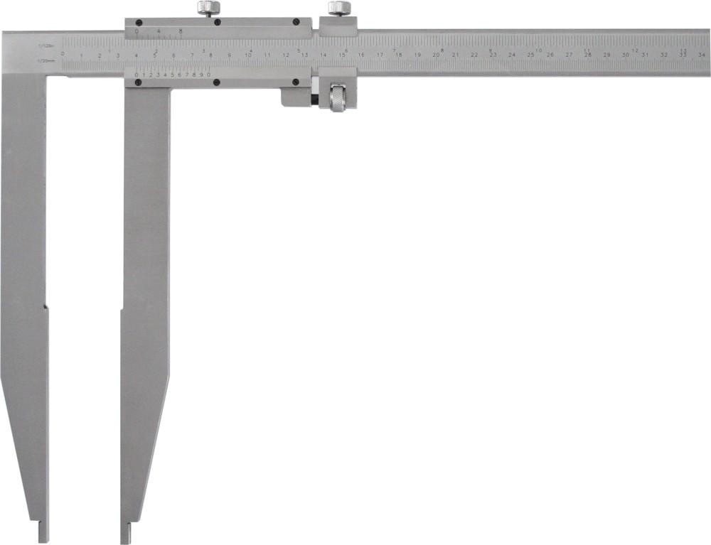 Nonius Werkstattschieblehre mit langen Messschenkeln 1000mm / 300mm