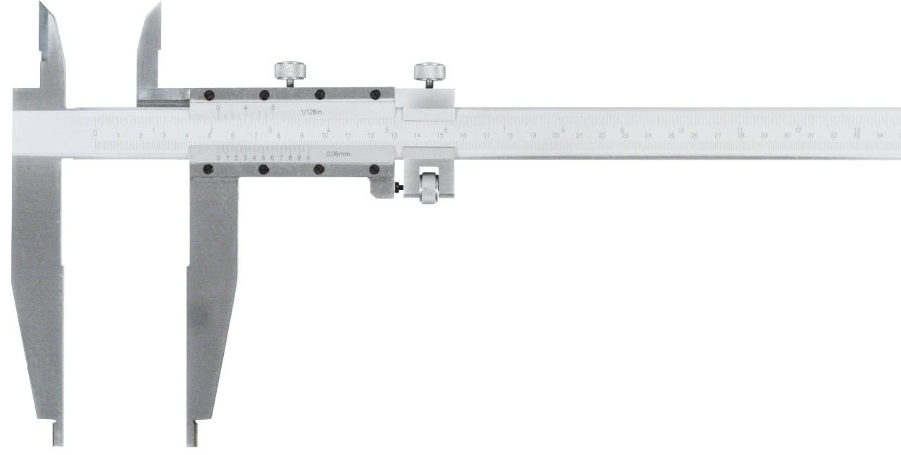 Werkstatt-Schieblehre 600mm mit sich kreuzenden Messschneiden