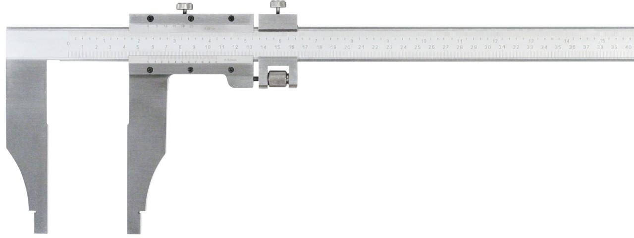 Nonius Werkstattschieblehre 500mm / 125mm 0,02 Nonius